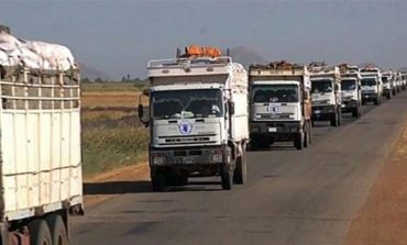 Third food aid batch dispatched from Sudan to South Sudan