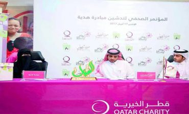 Qatar Charity launches initiative to support children of Syrian refugees