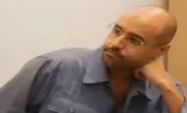 Undersecretary of Thinni government's justice ministry visits Saif Al-Islam in Zintan