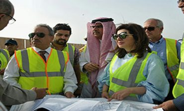 Road development projects inspected