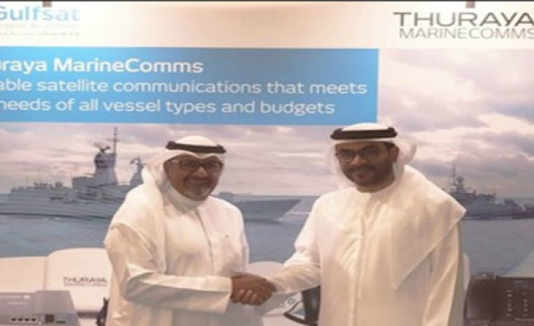 Thuraya, Gulfsat sign strategic partnership