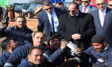 Egypt's Sisi inaugurates Middle East's largest fish farm