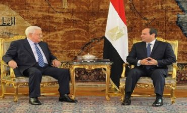Egypt's Sisi discusses Palestine, Jerusalem developments with President Abbas
