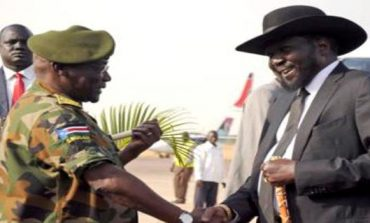 South Sudan president insists ex-army chief rebellious