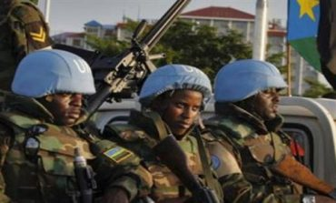 South Sudan says UN protection force turned water fetching force