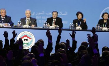 Syrian national dialogue congress approves missions of committee tasked with discussing current constitution
