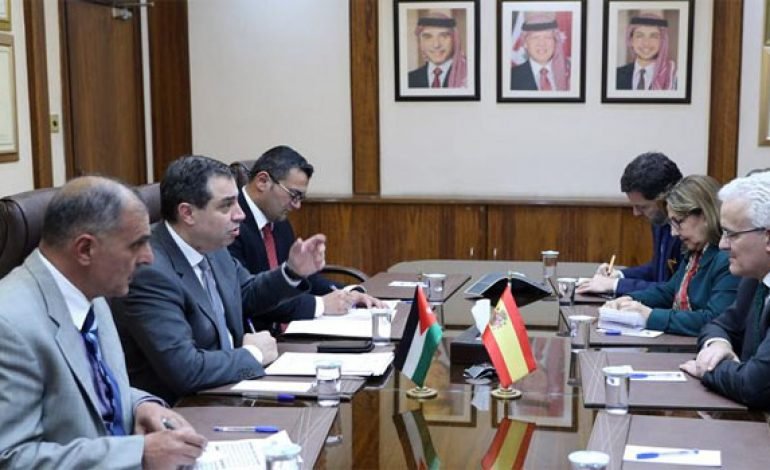 Jordan, Spain agree to 'unify' position during upcoming Brussels conference