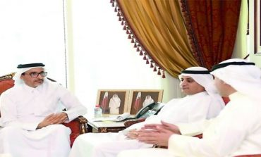 Culture Minister discusses cooperation with Kuwait official