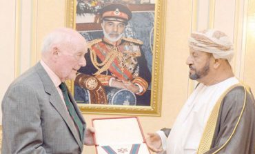 His Majesty confers Military Order on Retd Colonel