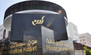 Oman share index ends higher
