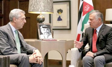 King, FM meet UNHCR chief as global support for refugees dwindles