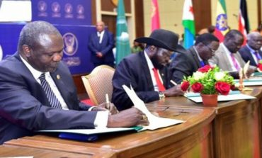 Riek Machar accepts to sign South Sudan final peace document