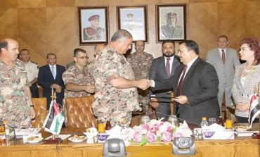 Jordan, Iraq sign security cooperation agreement