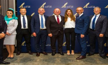 Gulf Air commences Dreamliner service to London