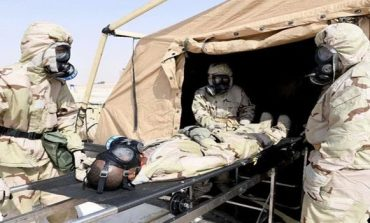 Saudi and US militaries in WMD attack training