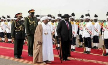 President Kiir arrives in Khartoum for talks with al-Bashir and S. Sudan opposition leaders