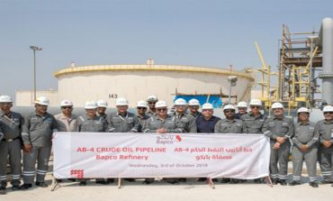 Bapco commissions new AB pipeline