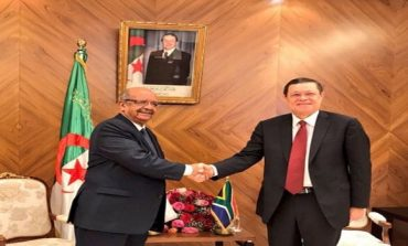 Messahel meets with South Africa's Deputy Minister of International Relations and Cooperation