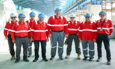 Alba Chairman visits Line 6 Smelter Project
