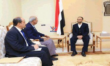 Al-Mashat meets head, deputy head of Southern Movement component