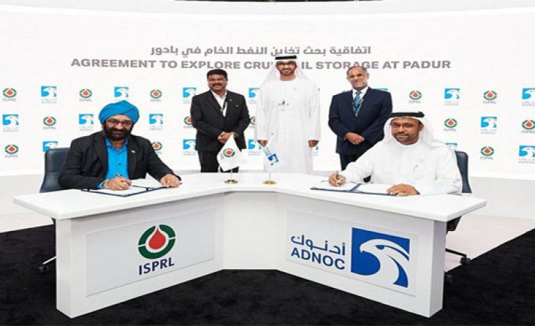 ADNOC inks MoU with India's ISPRL during ADIPEC