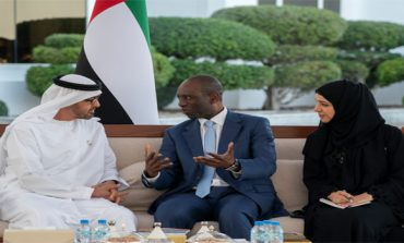 Mohamed bin Zayed receives Mozambique PM
