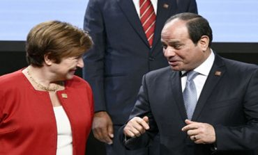 Egypt's Sisi meets with World Bank CEO in Vienna