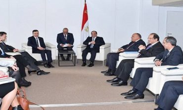 Egypt's Sisi discusses defence, security and economic cooperation with Slovenia's PM