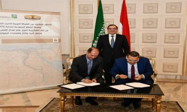 Saudi Aramco's unit, Egyptian SUMED ink oil storage contracts