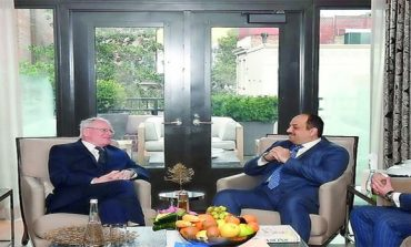 Deputy PM meets US Special Envoy for Syrian Affairs