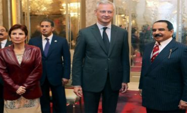 HM King meets French minister