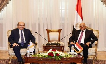 Egypt's parliament speaker discuss political and economic relations with his Cypriot counterpart