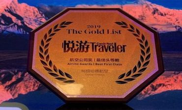 Etihad gets top recognition from Condé Nast Traveller China