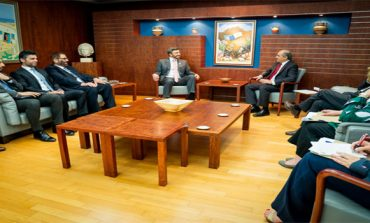 Abdullah bin Zayed, President of Cypriot Parliament discuss fostering relations
