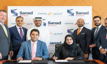 Sanad Aerotech inks AED 22m financing deal with Mashreq Bank