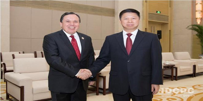 Jhinaoui meets Head of International Liaison Department of China's ...