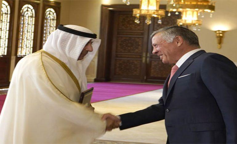 King receives credentials of six new ambassadors