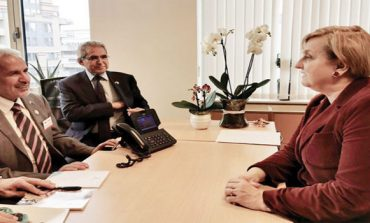 KSRelief chief, European Parliament official discuss cooperation prospects